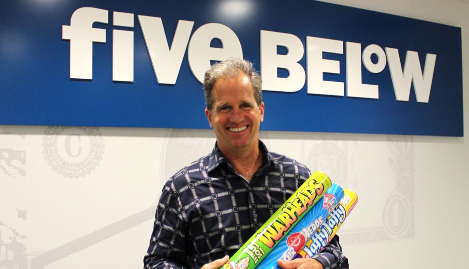 Five Below CEO Joel Anderson.