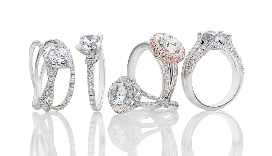 Here's a peek at some of the ring styles that will be available during the sale. Courtesy of BENARI JEWELERS.