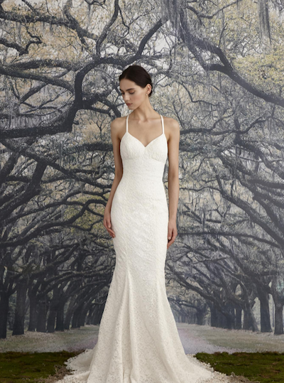 Here's one of the gorgeous Nicole Miller gowns that will be on display at the event.
