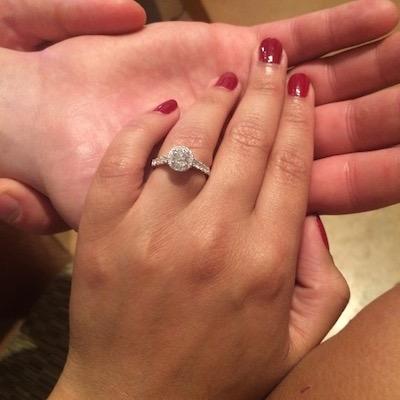 Gabrielle's ring!