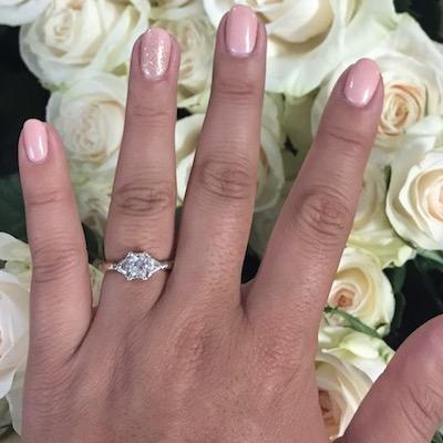 Jackie's ring!