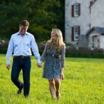 We love an engagement shoot at Wyebrook Farm. Photo | CINEMATICbyDavidM