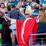 Will the Pope bless the Eagles for a second week in a row? (Photo by: Jeff Fusco.)