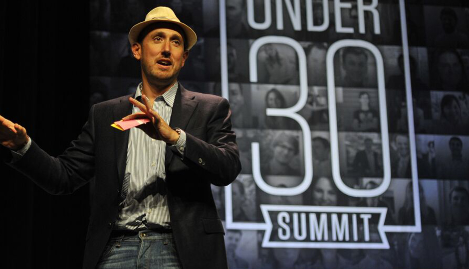 Forbes Editor Randall Lane at the Under 30 Summit in Philly.
