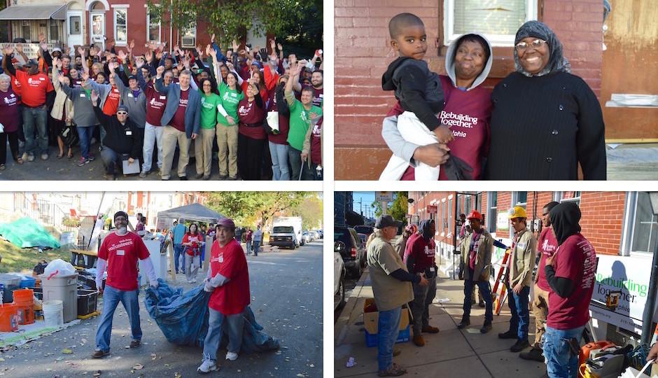 Rebuilding Together Philadelphia - Saturday October 16th 2015