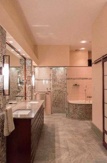 Bi Level Deck Home Design Ideas Pictures Remodel And Decor: Cecil Baker-Designed Bi-Level Penthouse On Chestnut Street