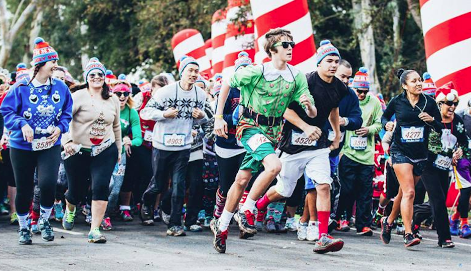 The Ugly Sweater Run | Photo via Facebook