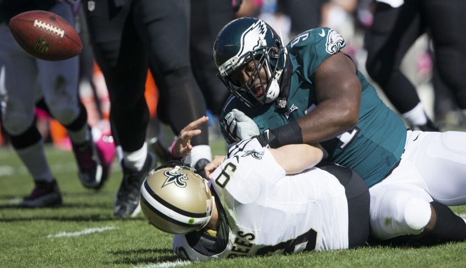 Fletcher Cox. (USA Today Sports)