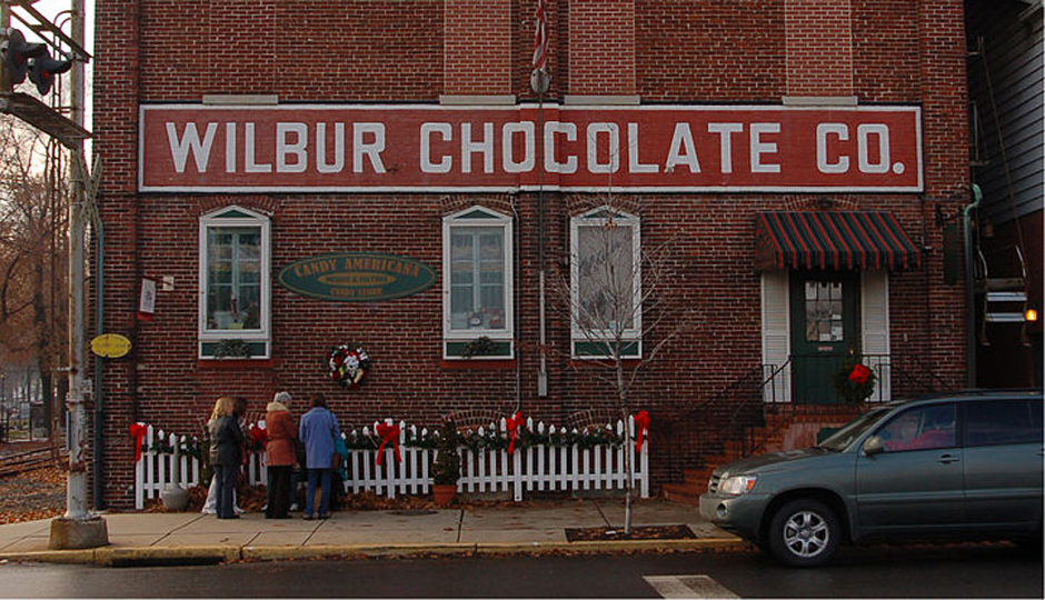 """Wilbur Chocolate Co Front 1694px"" by Photo by and 2008 Derek Ramsey (Ram-Man) Wikimedia Commons"