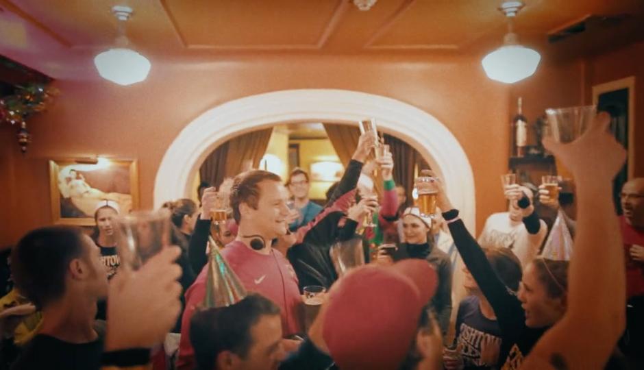 Movie still from Beer Runners