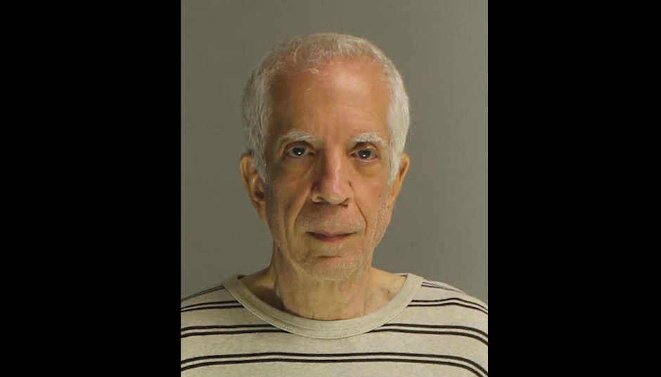 Charles Cohen in his Upper Providence Township mugshot.