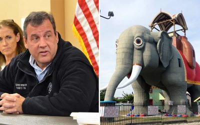 Chris Christie and Lucy - Margate