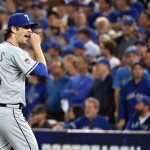 Cole Hamels pitches for the Texas Rangers |  Nick Turchiaro