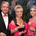Bill Culp, Karen Lynch and Allyson Lynch. The Lynch's are mother daughter breast cancer survivors and were thrilled to be able to attend the Pink Tide Gala together.