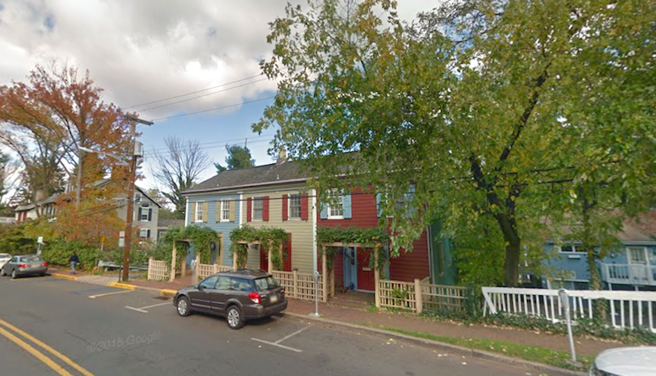 Homes in New Hope, Bucks County | Screenshot via Google Street View