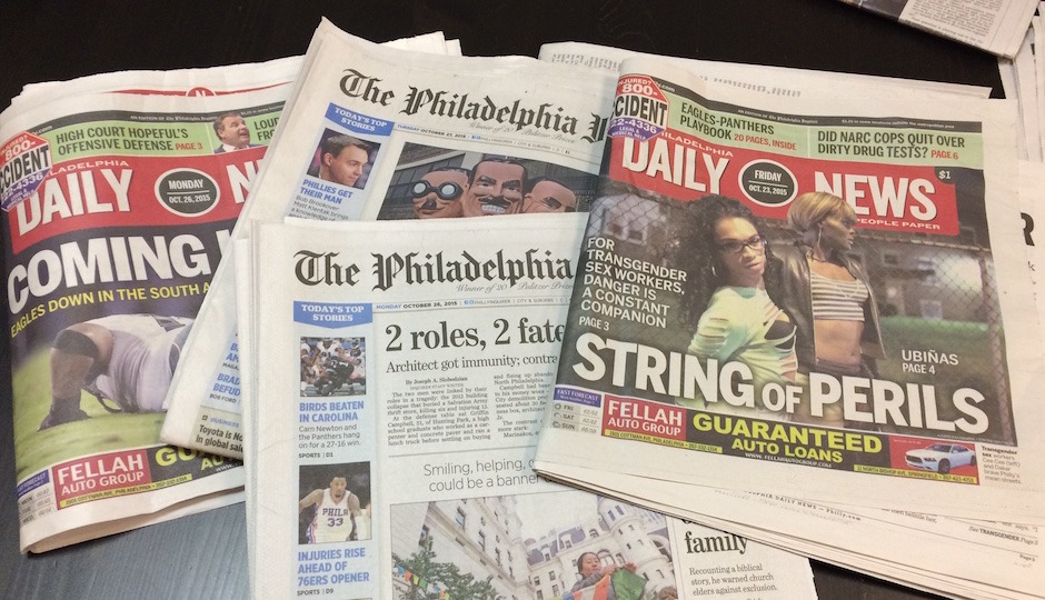 inquirer daily news newspapers