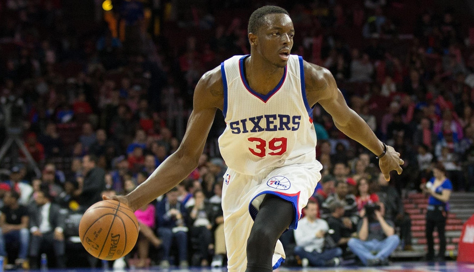 Jerami Grant finished with 6 points and 8 rebounds against the Knicks, starting for the injured Nerlens Noel at power forward   Bill Streicher-USA TODAY Sports