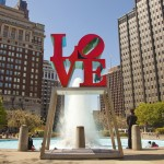 One of the City of Brotherly Love's best-known landmarks is the Love sculpture by artist Robert Indiana. The icon resides in JFK Plaza—more commonly known as Love Park—near City Hall and at the base of the Benjamin Franklin Parkway. Built in the 1960s, this mixed-use urban space welcomes businesspeople on their lunch breaks and visitors who want to capture a signature Philly picture.