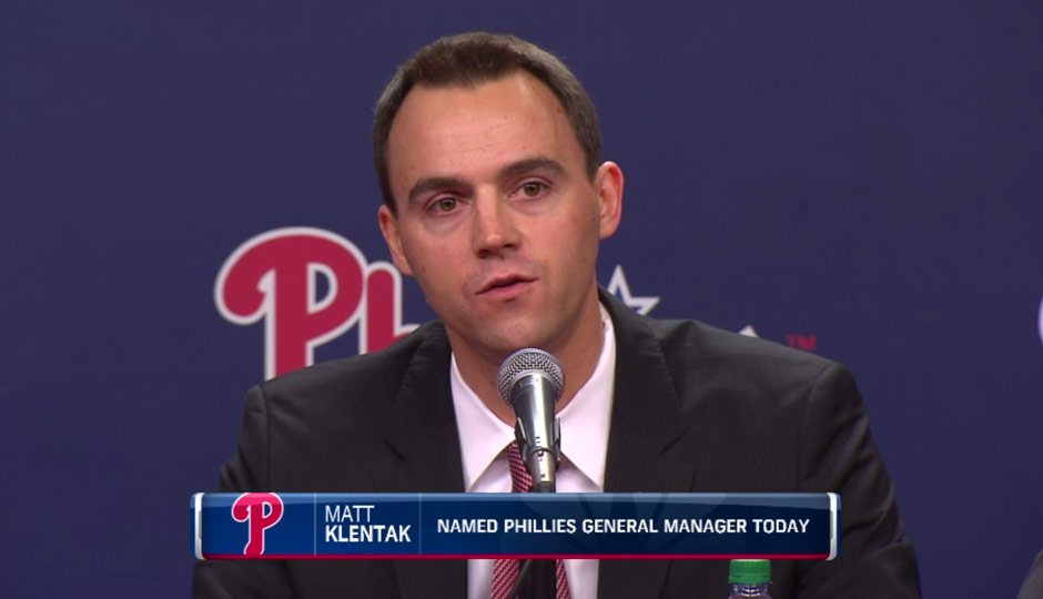 Matt Klentak - CSN Philly screengrab