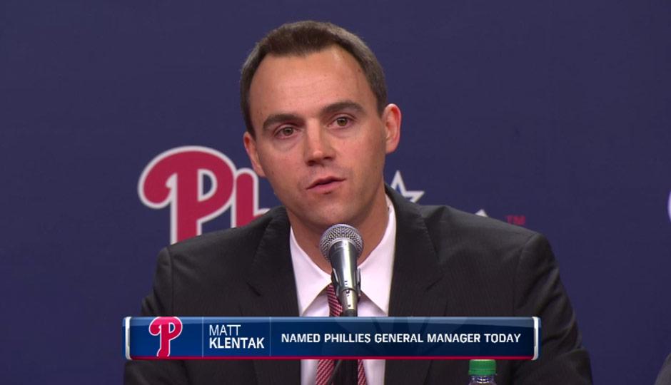 Matt Klentak - CSN Philly screengrab
