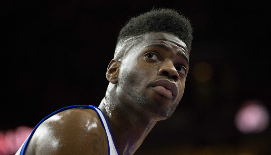 The Sixers have until November 2nd to pick up the 4th year option on Nerlens Noel's contract | Bill Streicher-USA TODAY Sports