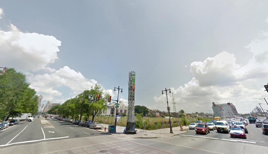 Northwest lot of Broad and Washington | Image via Google Street View