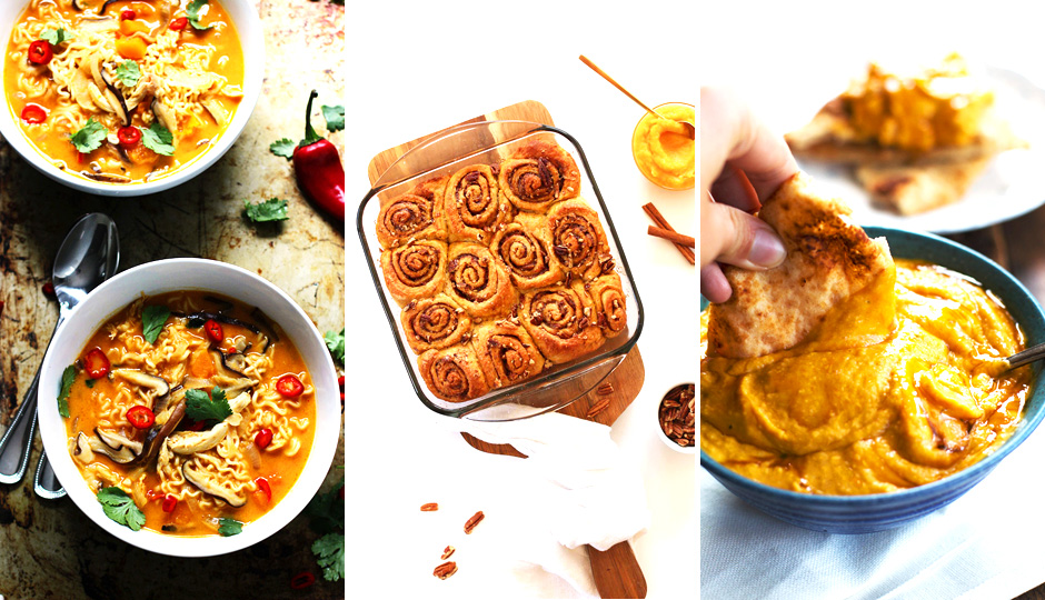pumpkin recipe lead