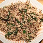 Brown Rice, Quinoa and Chia Seed Pilaf