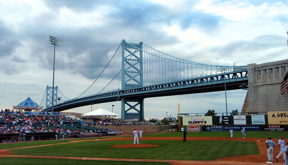 Riversharks game at Campbell's Field