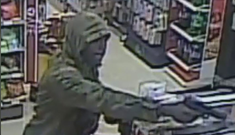 Man wanted for armed robbery in Elmwood