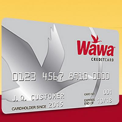 Wawa's new credit card.