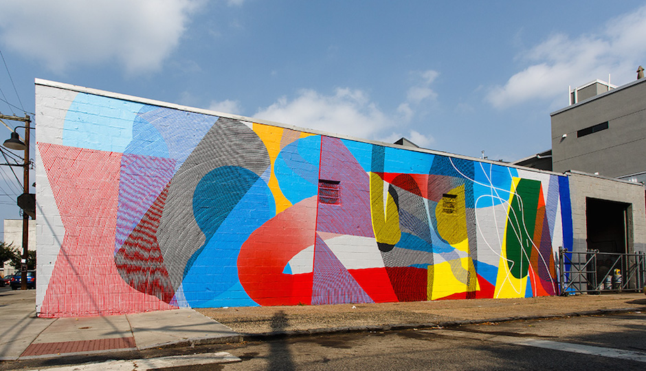 MOMO mural at Frankford and Berks. | Photo by Steve Weinik