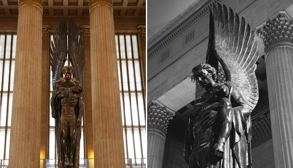 Left, photo by thegirlsny via Creative Commons . Right: photo by Eric Dillalogue via Creative Commons