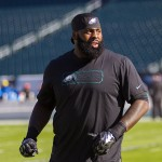 Jason Peters. (Jeff Fusco)