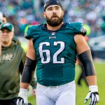 Jason Kelce. (Jeff Fusco)