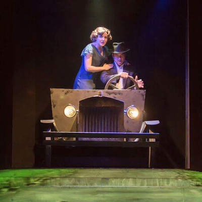 """""""Bonnie and Clyde"""" roar into The Eagle Theatre."""