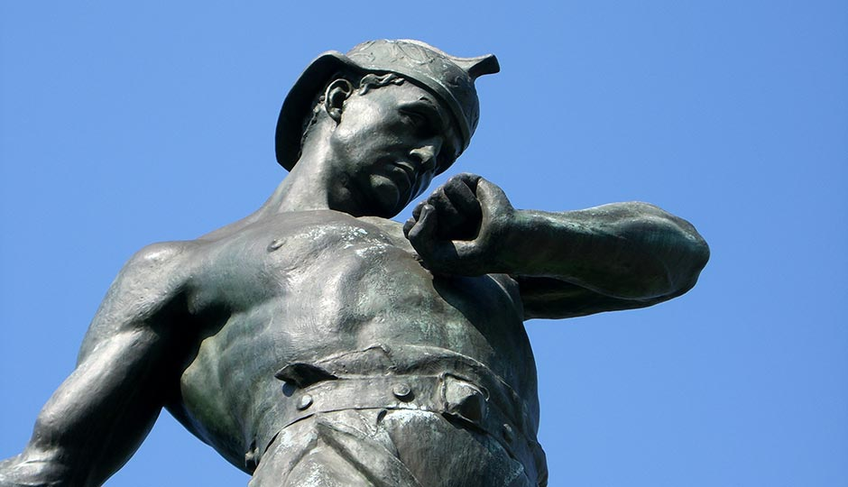 """""""Galusha Pennypacker statue close"""" by waarmstr - Own work. Licensed under Public Domain via Wikimedia Commons."""