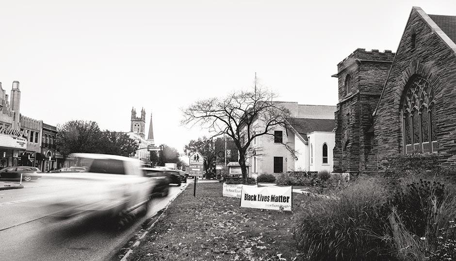 Central Baptist Church in Wayne. Photograph by Colin Lenton