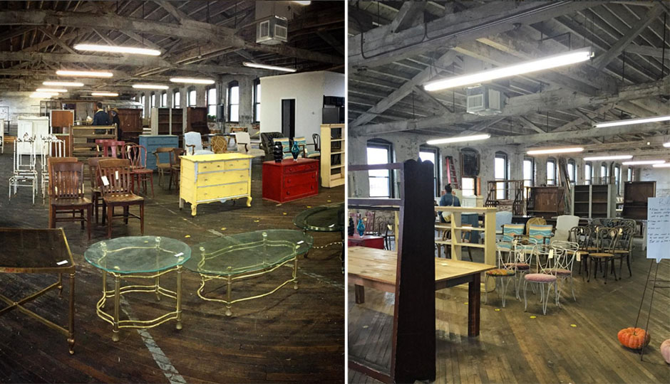 There s a semi secret vintage furniture warehouse sale for M furniture warehouse chicago