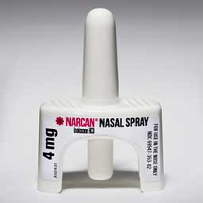 Narcan Nasal Spray can be administered in an emergency to reverse the effects of opioid overdose until help arrives.