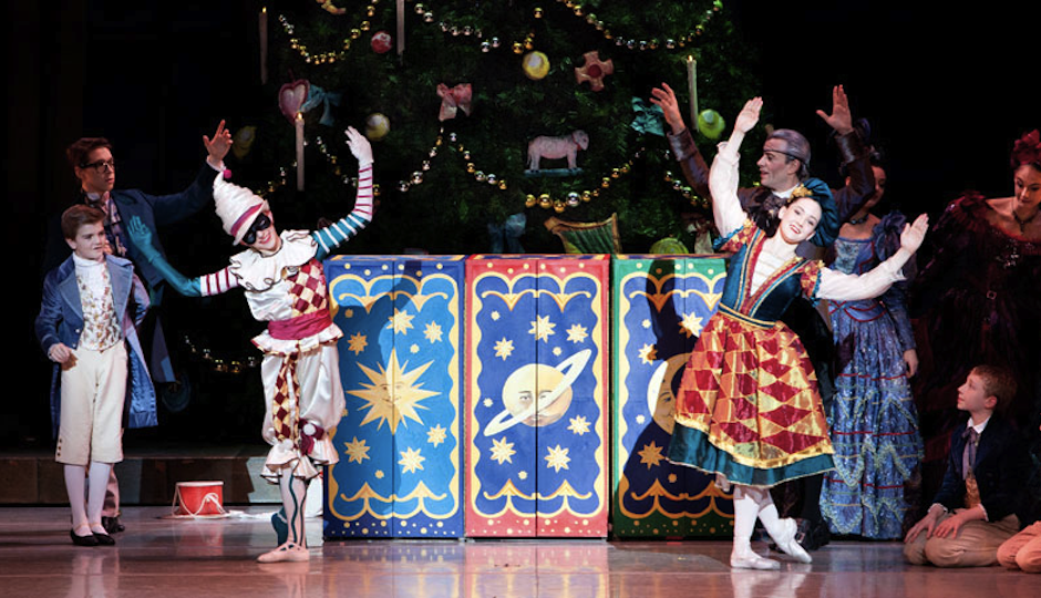 "A scene from the Pennsylvania Ballet's ""The Nutcracker."""