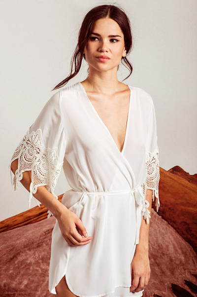 10 pretty getting ready bridal robes to wear the morning of your wedding philadelphia magazine. Black Bedroom Furniture Sets. Home Design Ideas
