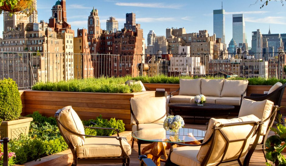How Lovely Is The Rooftop Garden At Surrey Hotel In Nyc Facebook