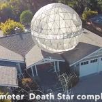 Yup, that's a Death Star | Screengrab via Youtube