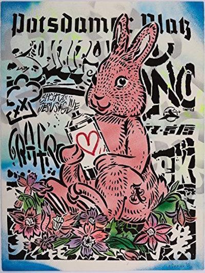 """Lady AIKO's """"Bunny."""""""