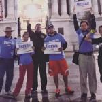 Philly's Bernie Sanders Walking/Running Group | Photo via Facebook