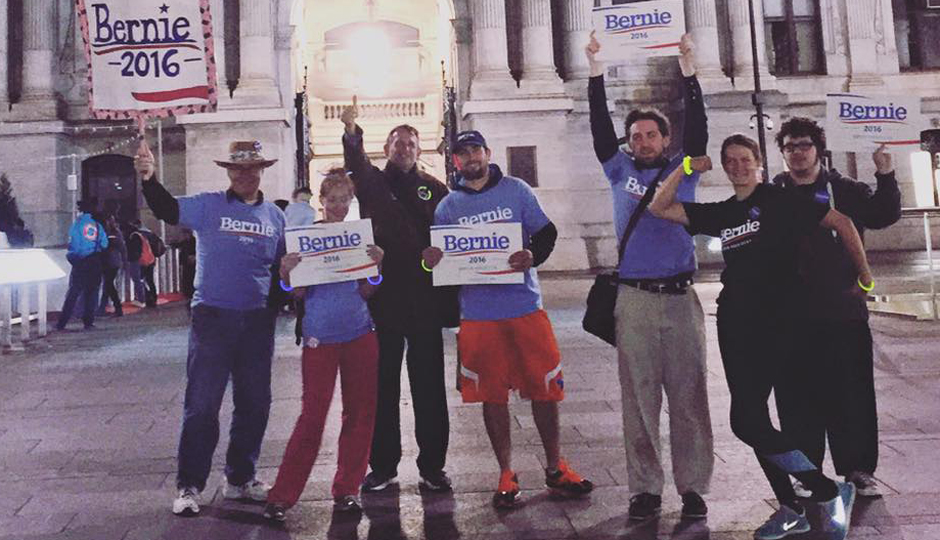 Philly's Bernie Sanders Walking/Running Group   Photo via Facebook