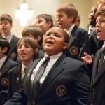 Bobby Hill (front center) singing with Keystone State Boychoir.