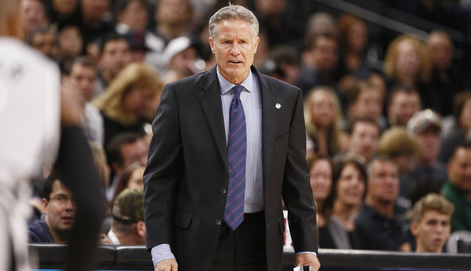 Maintaining a high-paced offense while integrating Jahlil Okafor into the offense is one of Sixers head caoch Brett Brown's priorities   Soobum Im-USA TODAY Sports