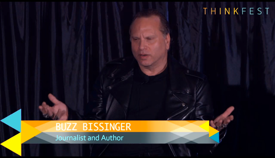 Buzz Bissinger at ThinkFest.